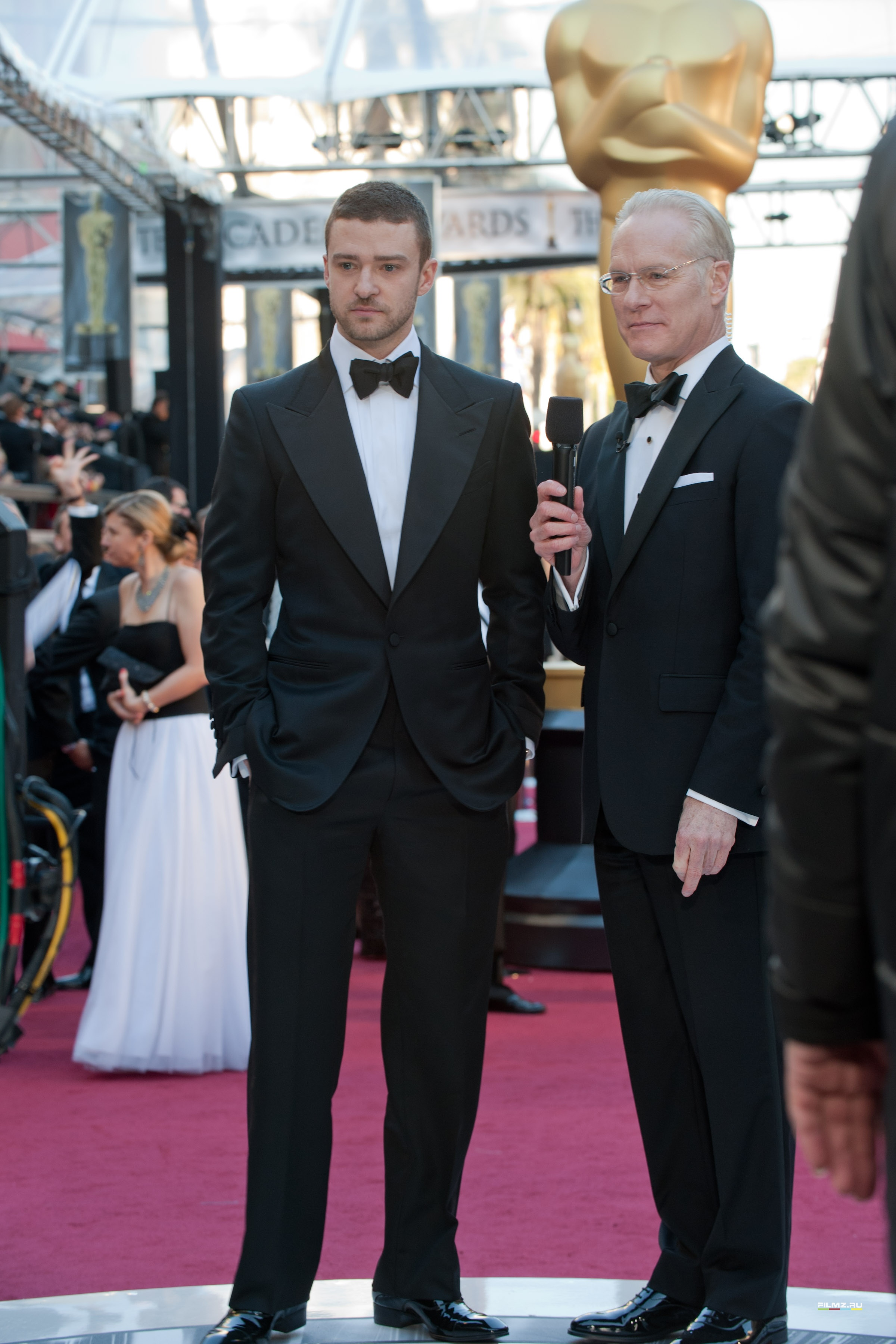 звездная дорожка Оскар 2011 Джастин Тимберлейк,