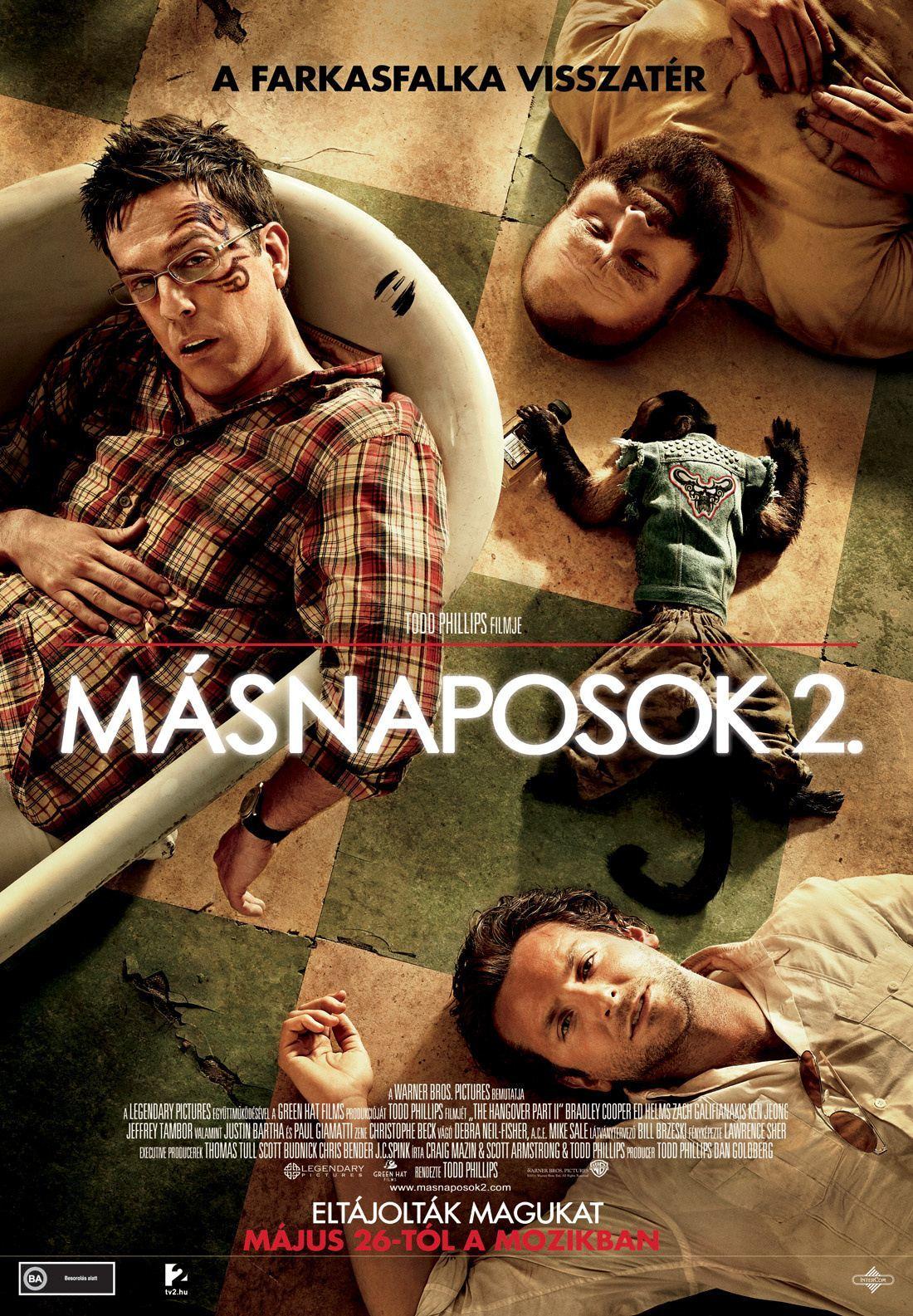 плакат фильма постер Мальчишник 2: Из Вегаса в Бангкок