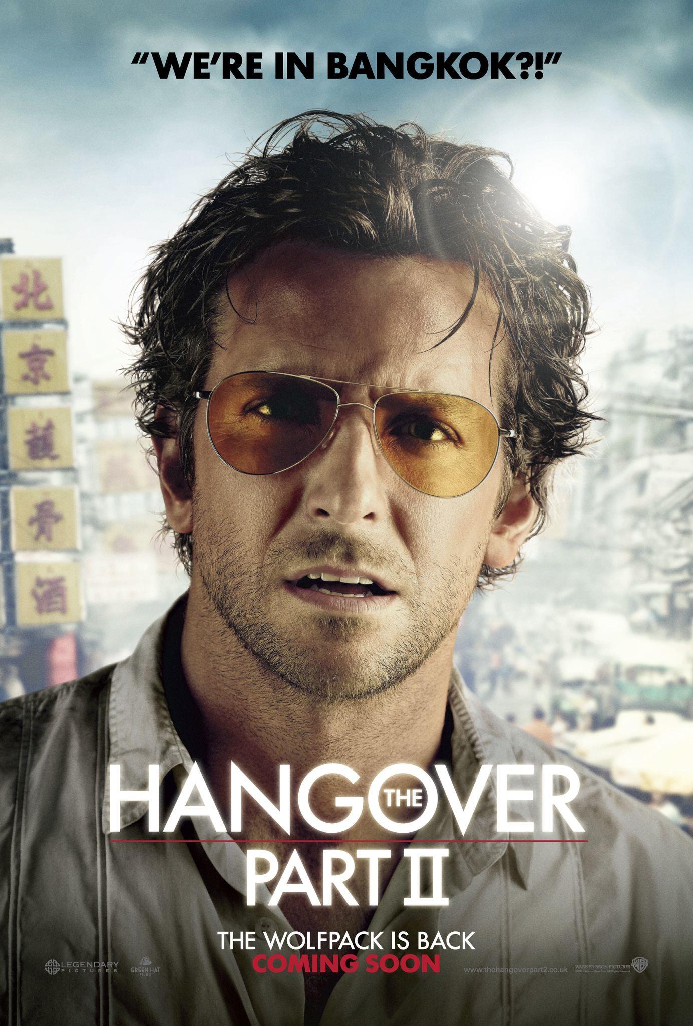 плакат фильма характер-постер Мальчишник 2: Из Вегаса в Бангкок