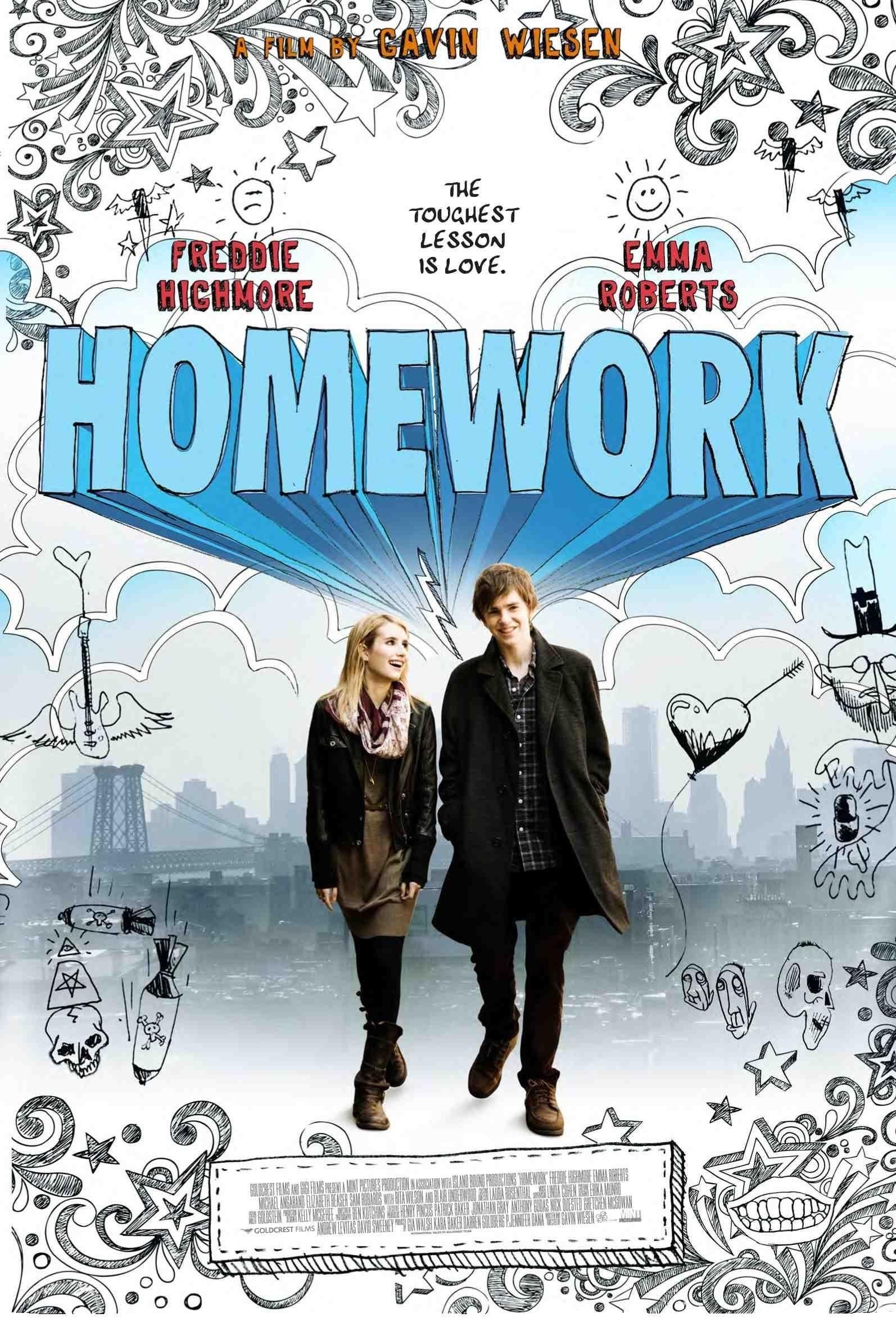 плакат фильма постер Домашняя работа
