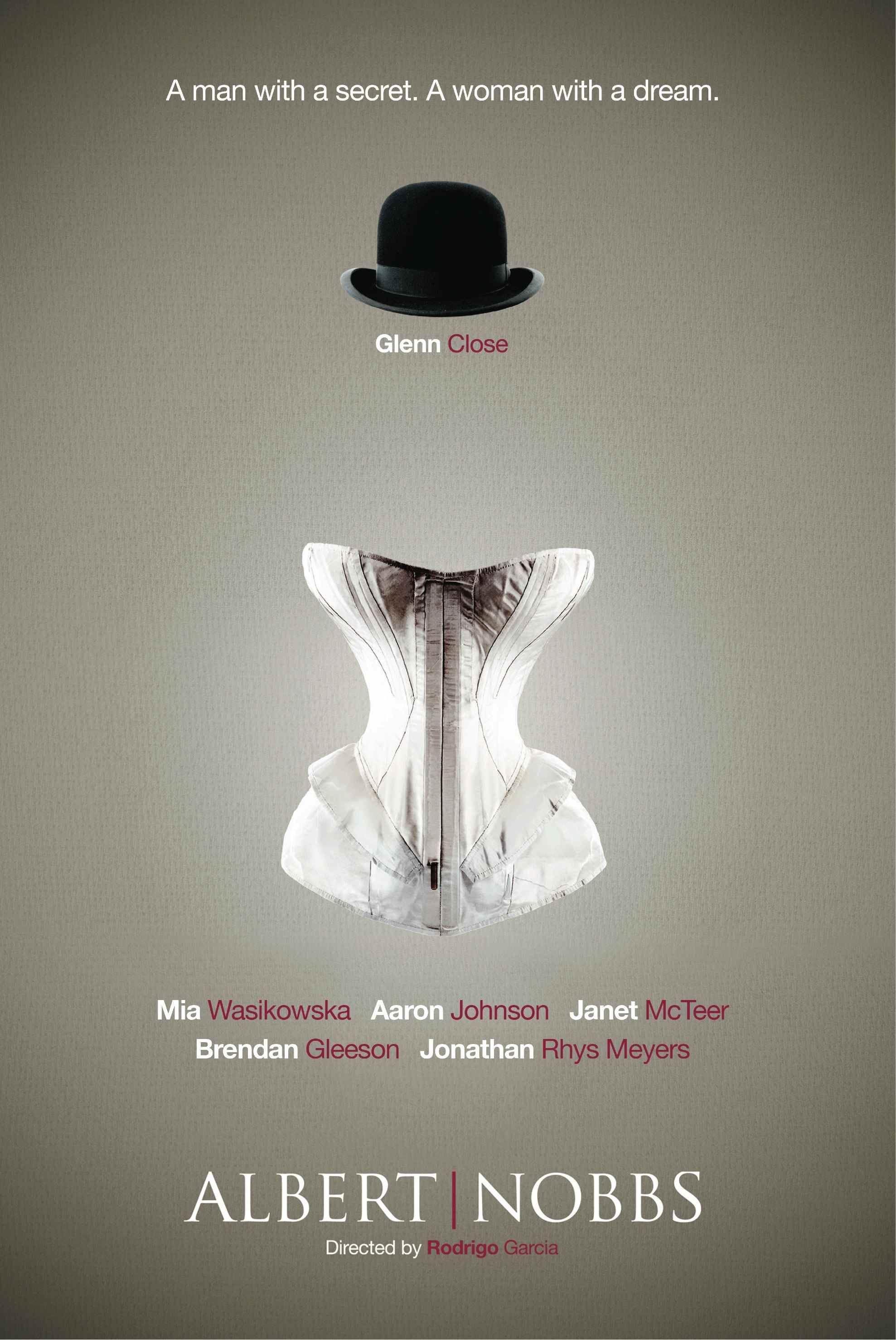 плакат фильма сейлс-арт Таинственный Альберт Ноббс