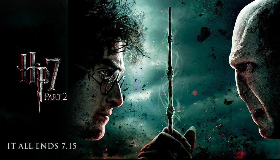 плакат фильма баннер Гарри Поттер и Дары Смерти: Часть вторая