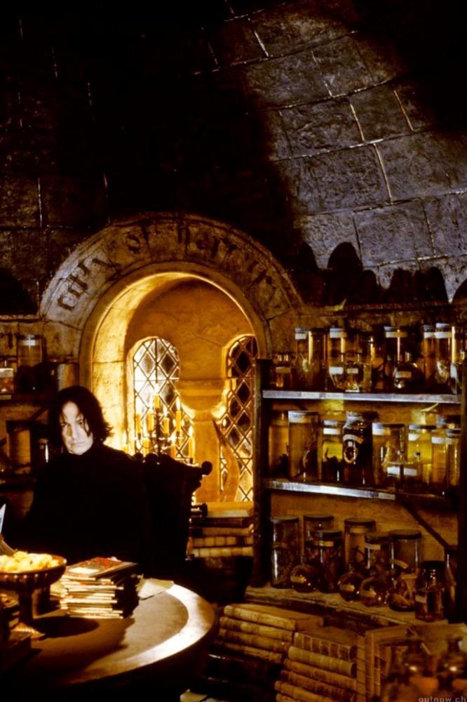кадры из фильма Гарри Поттер и Тайная комната Алан Рикман,