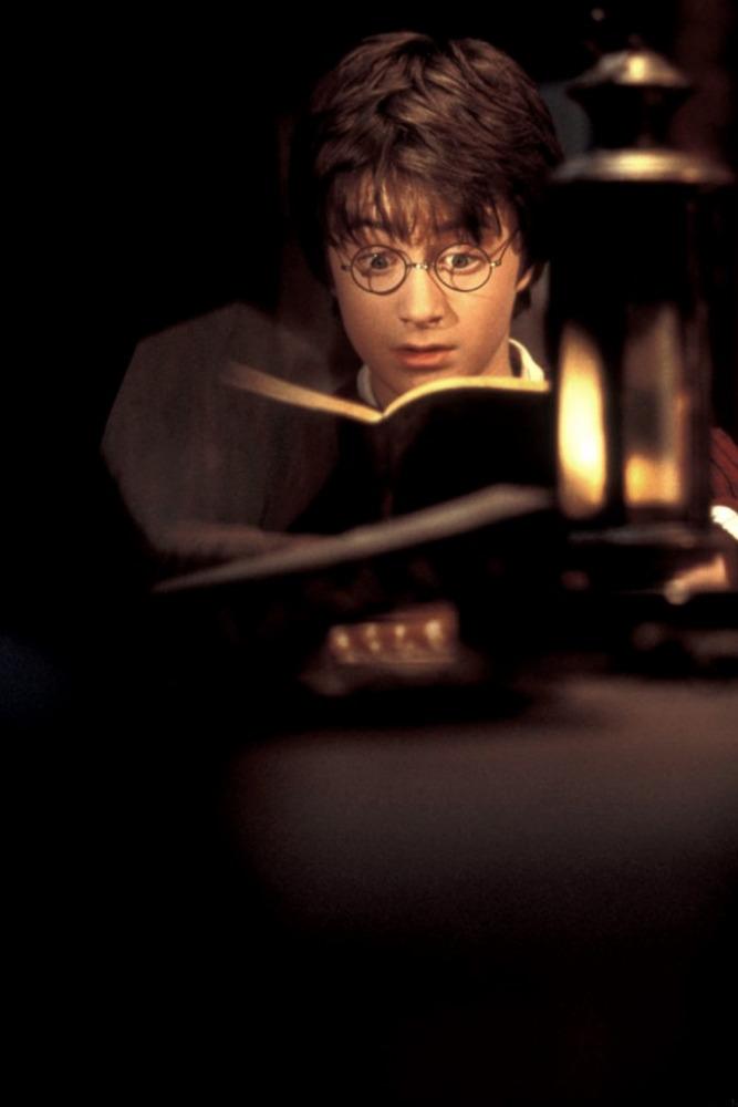 кадры из фильма Гарри Поттер и Тайная комната Дэниэл Рэдклифф,