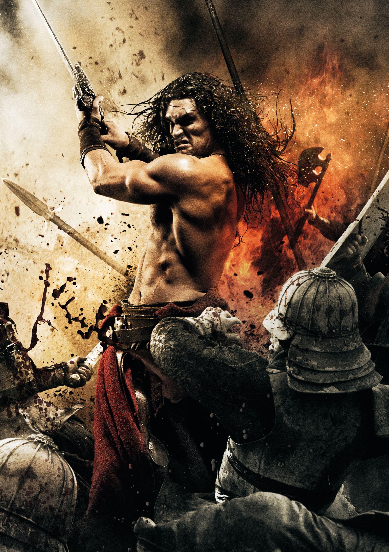 плакат фильма постер textless Конан-варвар