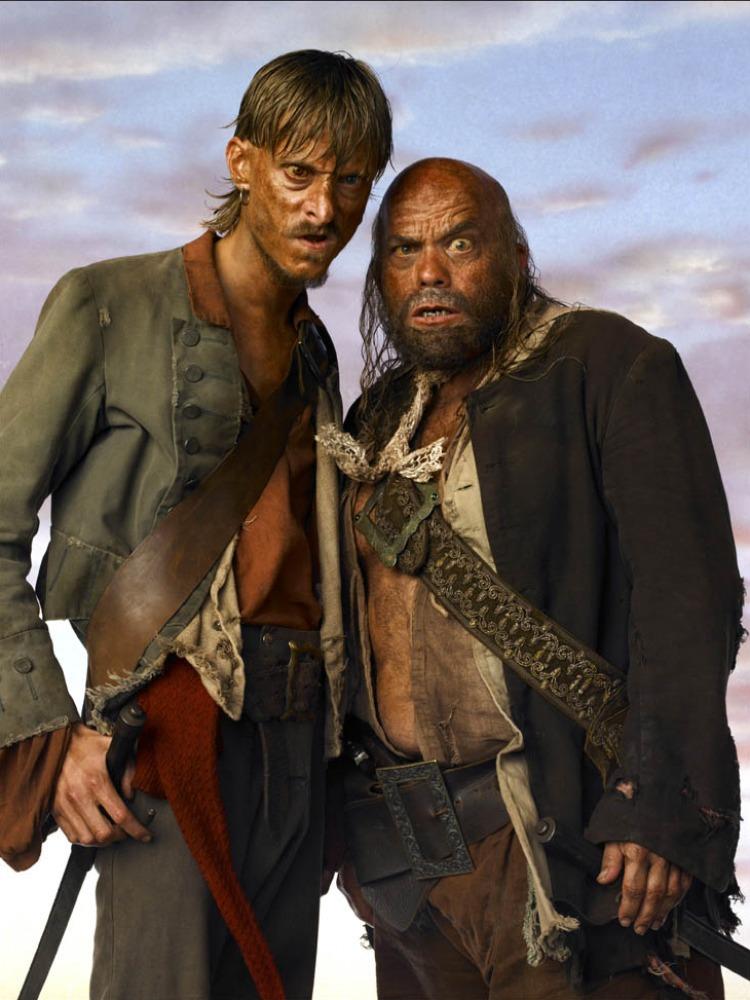 промо-слайды Пираты Карибского моря: На краю света Ли Арэнберг, Маккензи Крук,