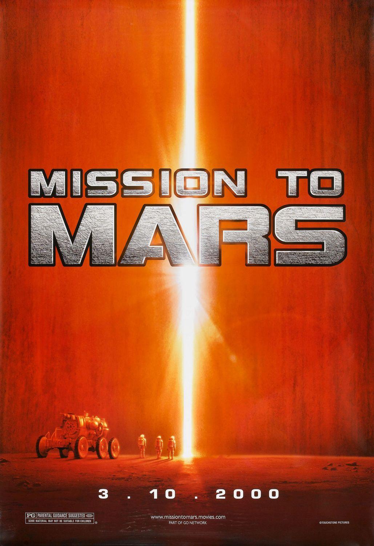 плакат фильма тизер Миссия на Марс