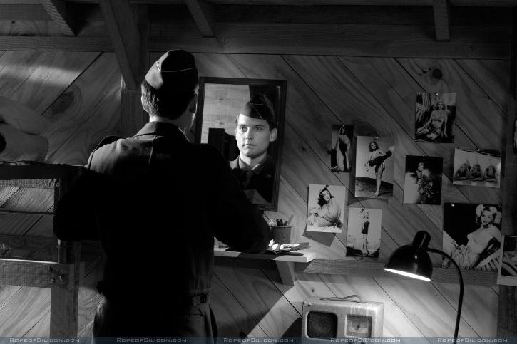 кадры из фильма Хороший немец Тоби Магуайр,