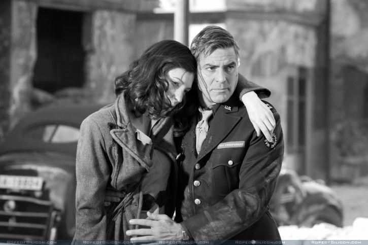 кадры из фильма Хороший немец Джордж Клуни, Кейт Бланшетт,