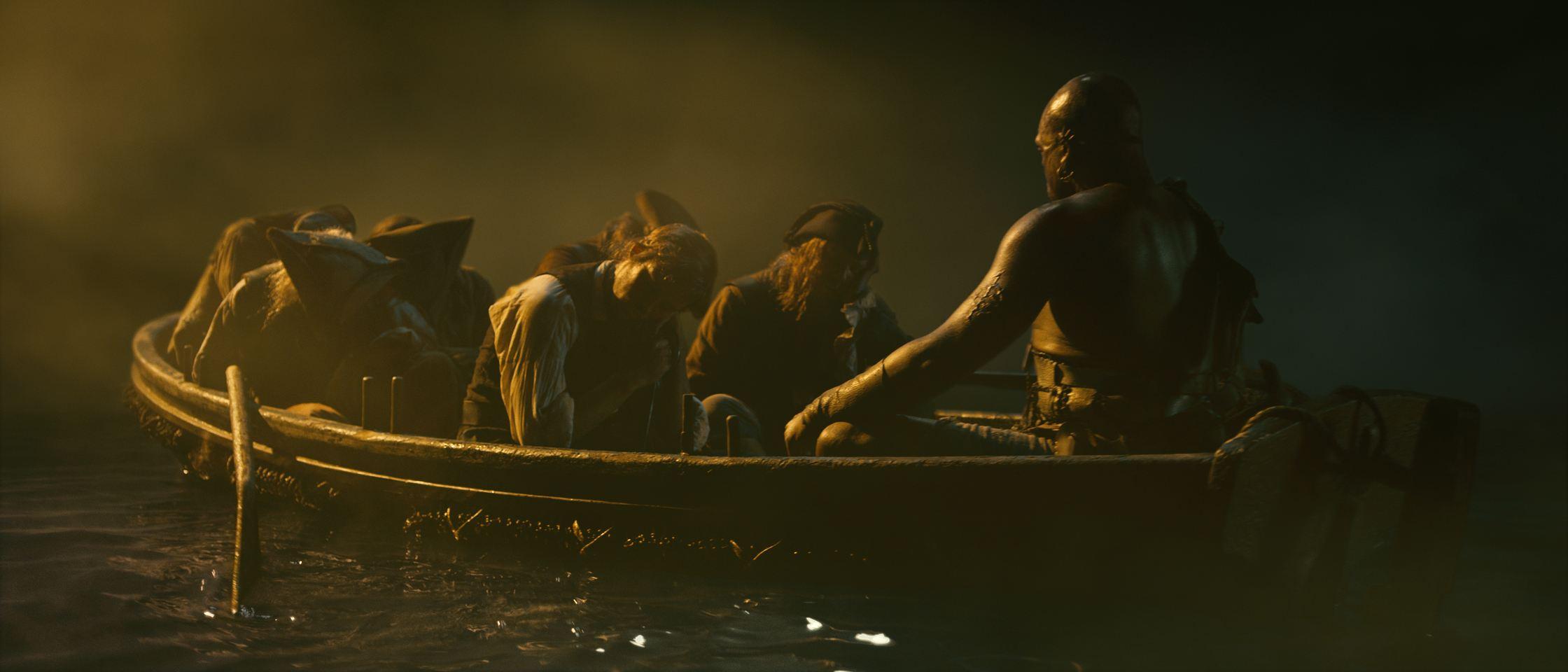 кадры из фильма Пираты Карибского моря: На странных берегах Сэм Клафлин, Стивен Грэм, Диобия Оперей,
