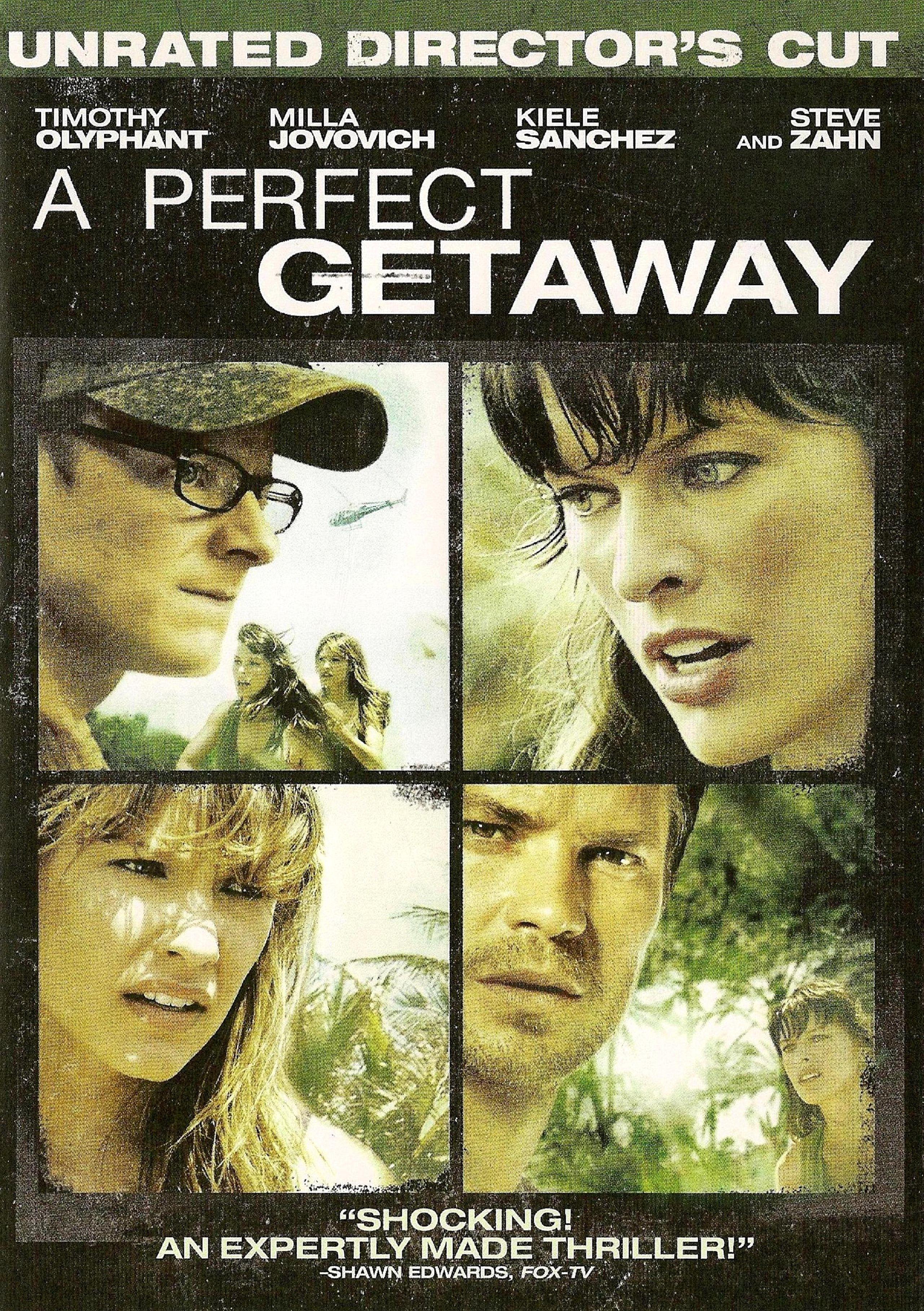 плакат фильма DVD Идеальный побег