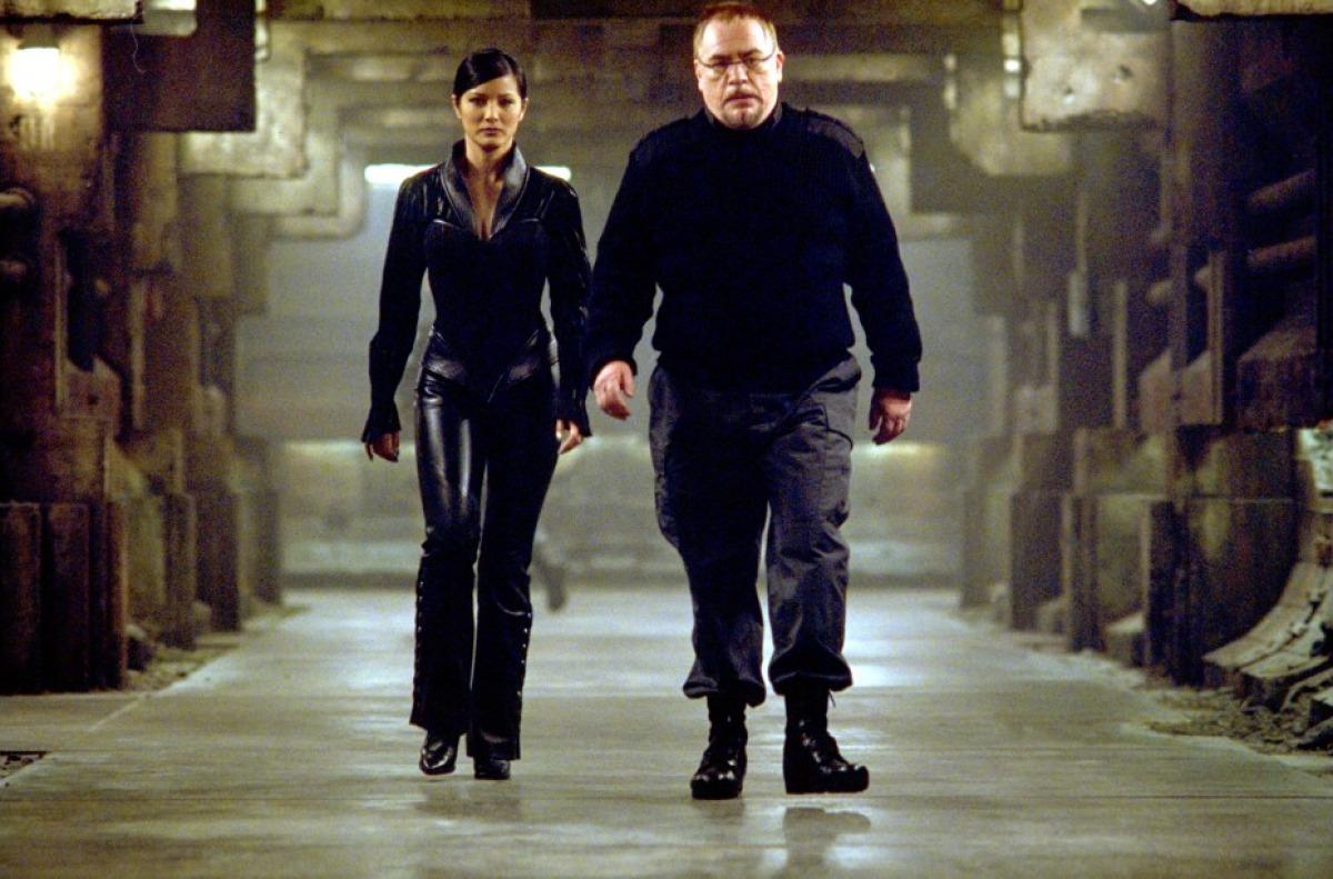 кадры из фильма Люди Икс 2 Брайан Кокс, Келли Ху,