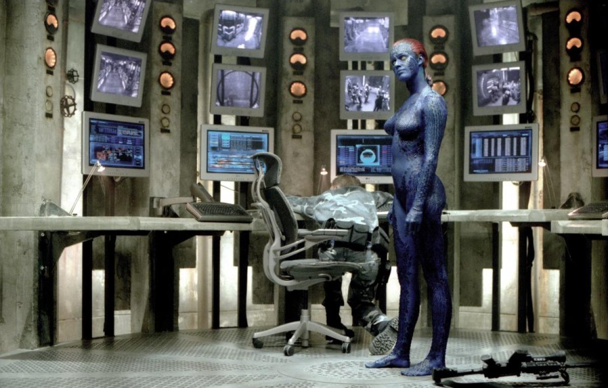кадры из фильма Люди Икс 2 Ребекка Ромейн,