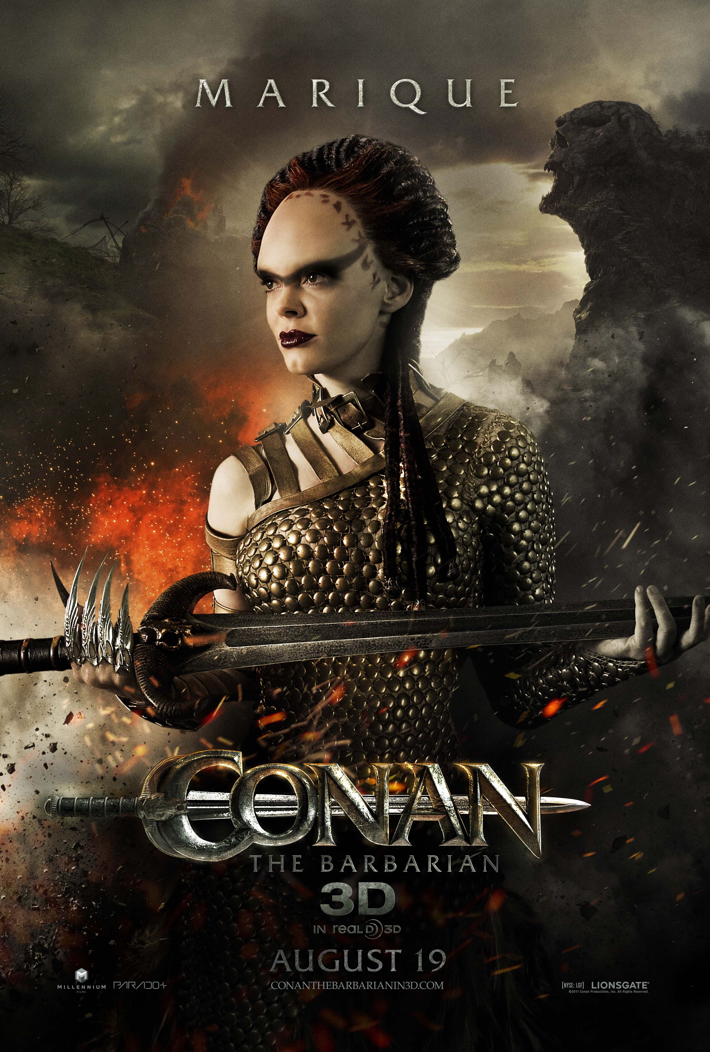 плакат фильма характер-постер Конан-варвар