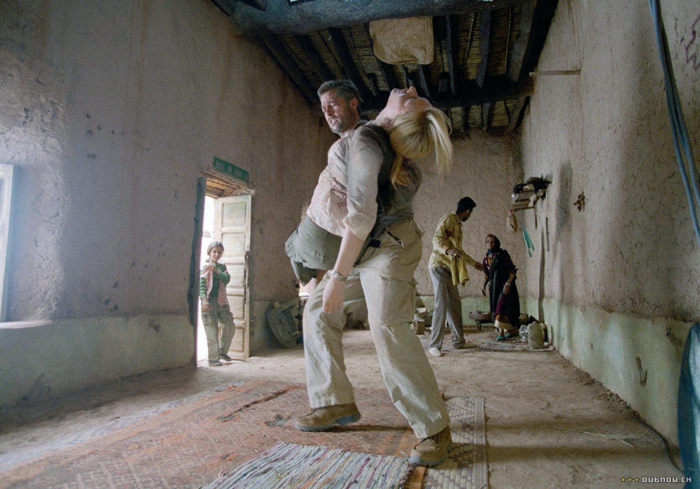 кадры из фильма Вавилон Кейт Бланшетт, Брэд Питт,