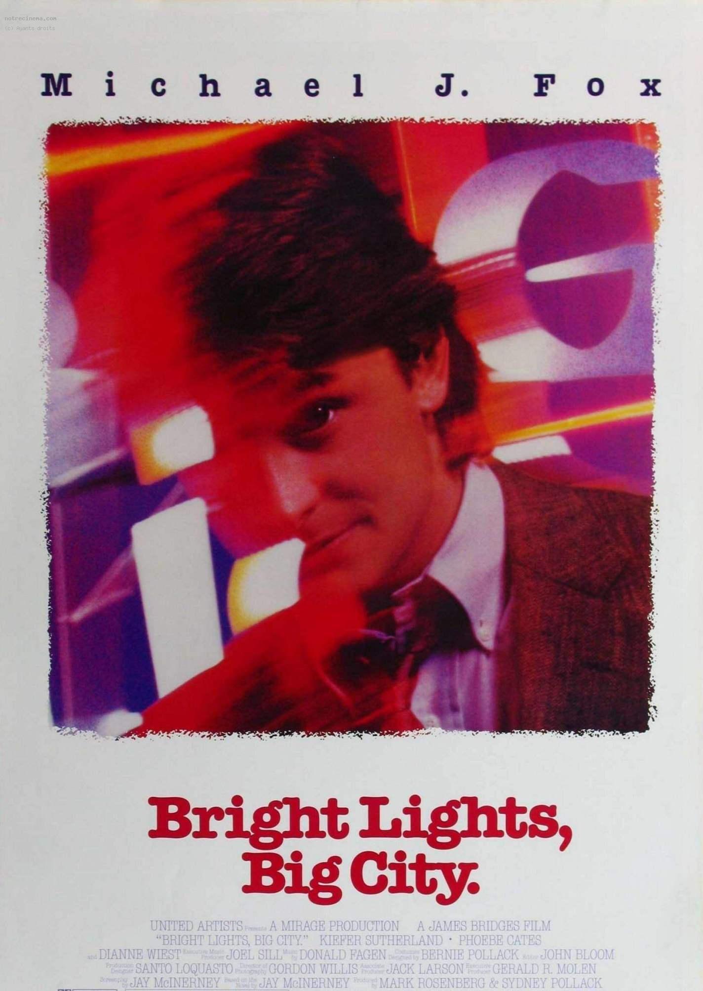 плакат фильма постер Яркие огни, большой город*