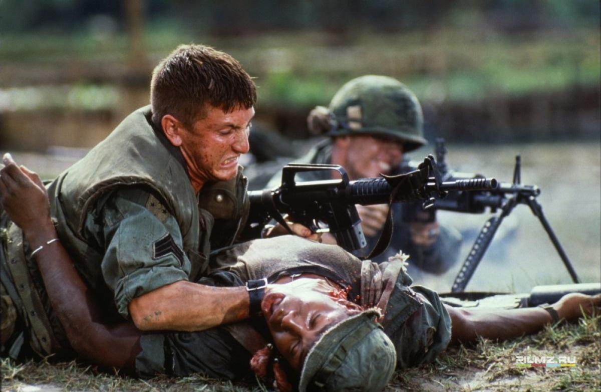 кадры из фильма Военные потери Шон Пенн,