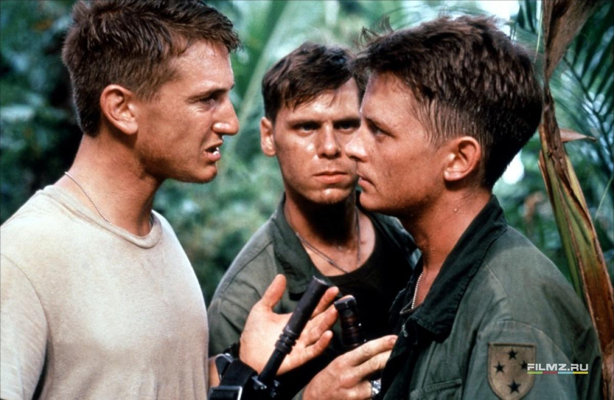 кадры из фильма Военные потери Шон Пенн, Дон Харви, Майкл Джей Фокс,