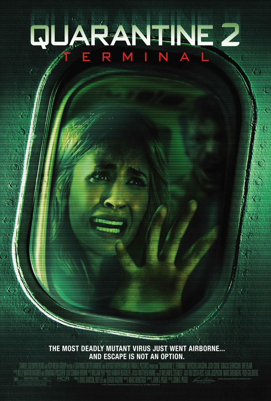 плакат фильма постер Карантин 2: Терминал*