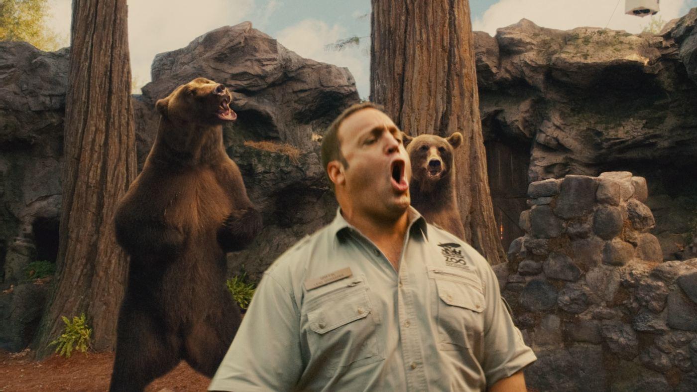 кадры из фильма Мой парень из зоопарка Кевин Джеймс,