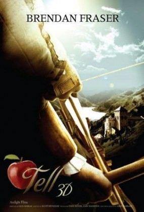 плакат фильма сейлс-арт Вильгельм Телль 3D*
