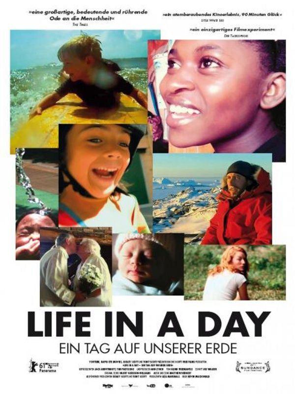 плакат фильма постер Жизнь за один день