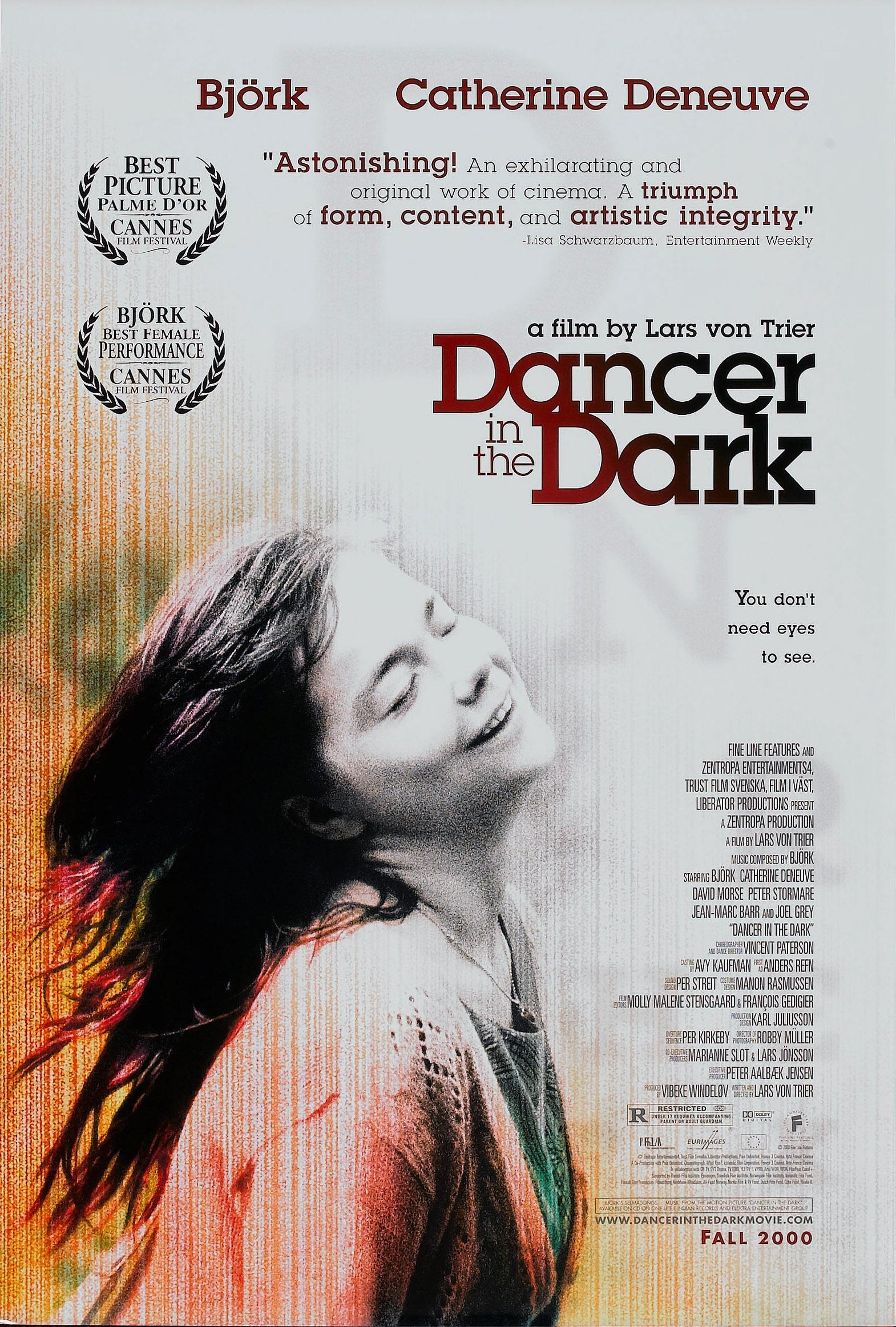 плакат фильма Танцующая в темноте