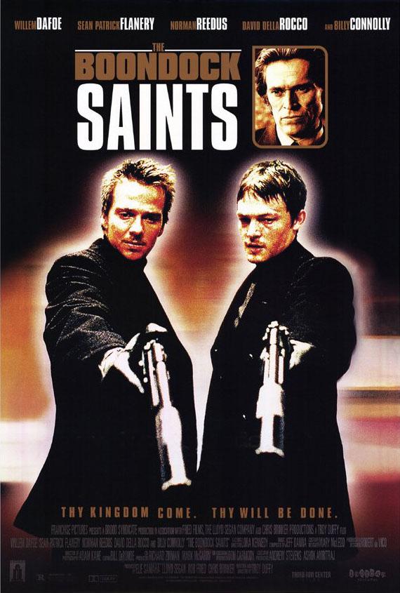 плакат фильма Святые из Бундока
