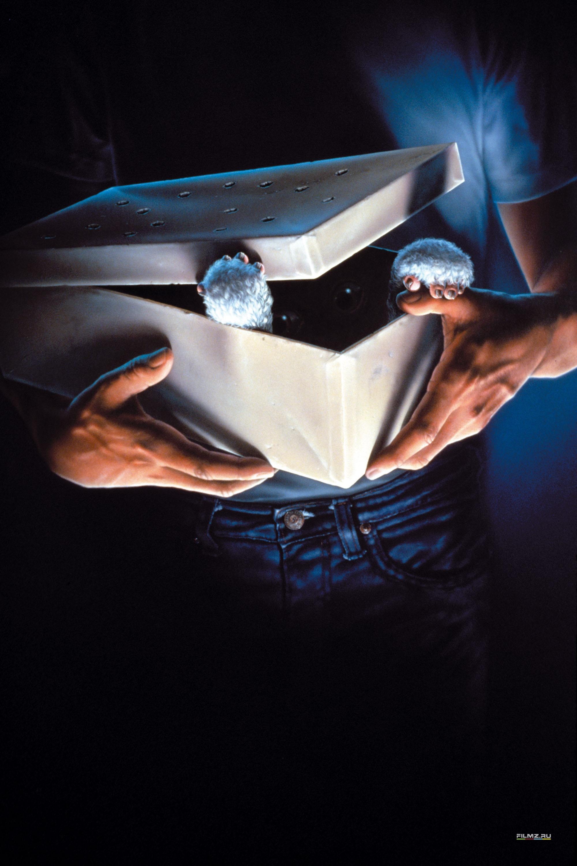 плакат фильма постер textless Гремлины