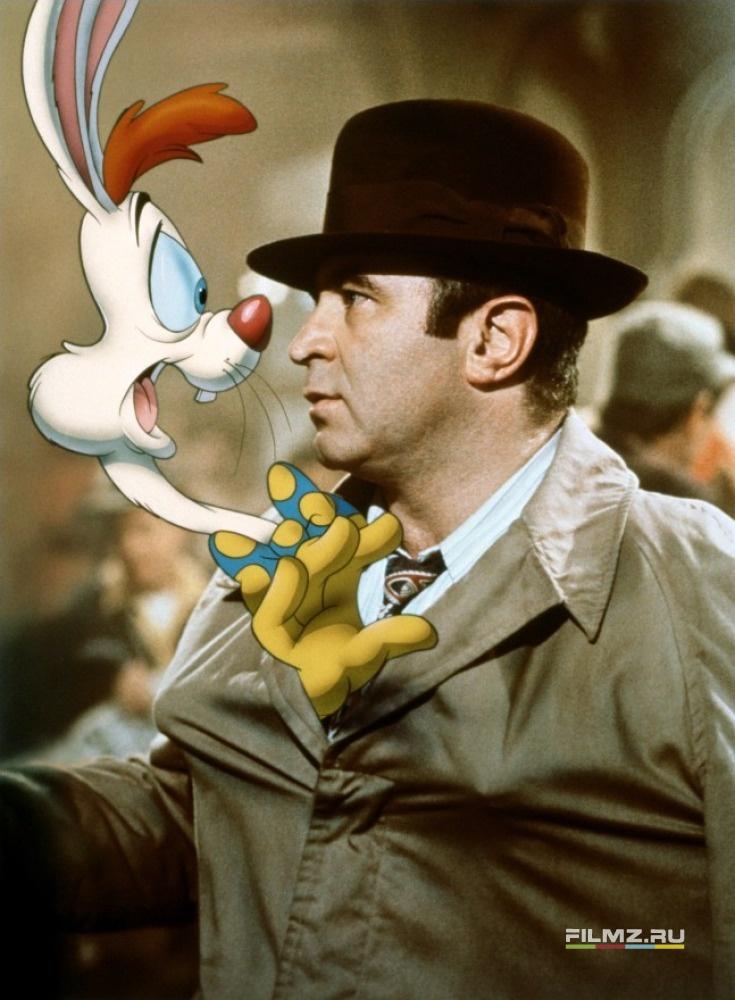кадры из фильма Кто подставил кролика Роджера Боб Хоскинс,