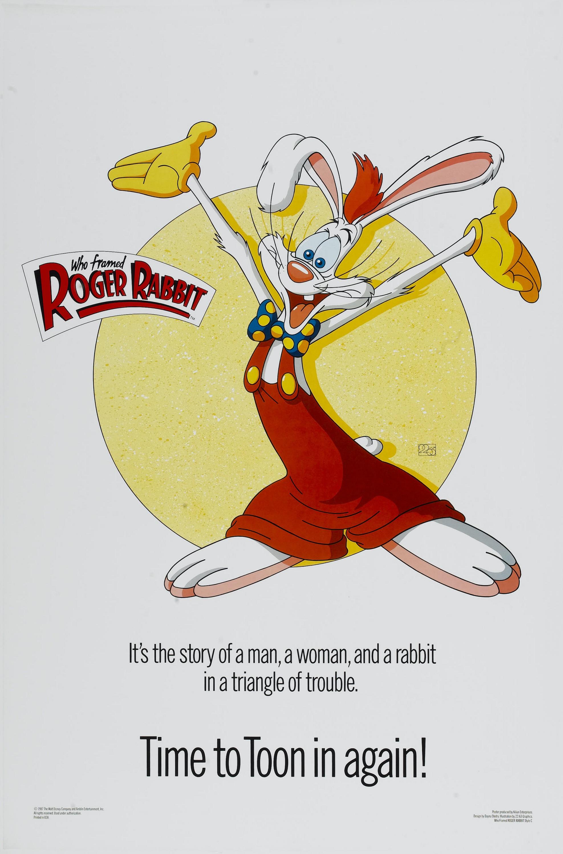 плакат фильма характер-постер Кто подставил кролика Роджера