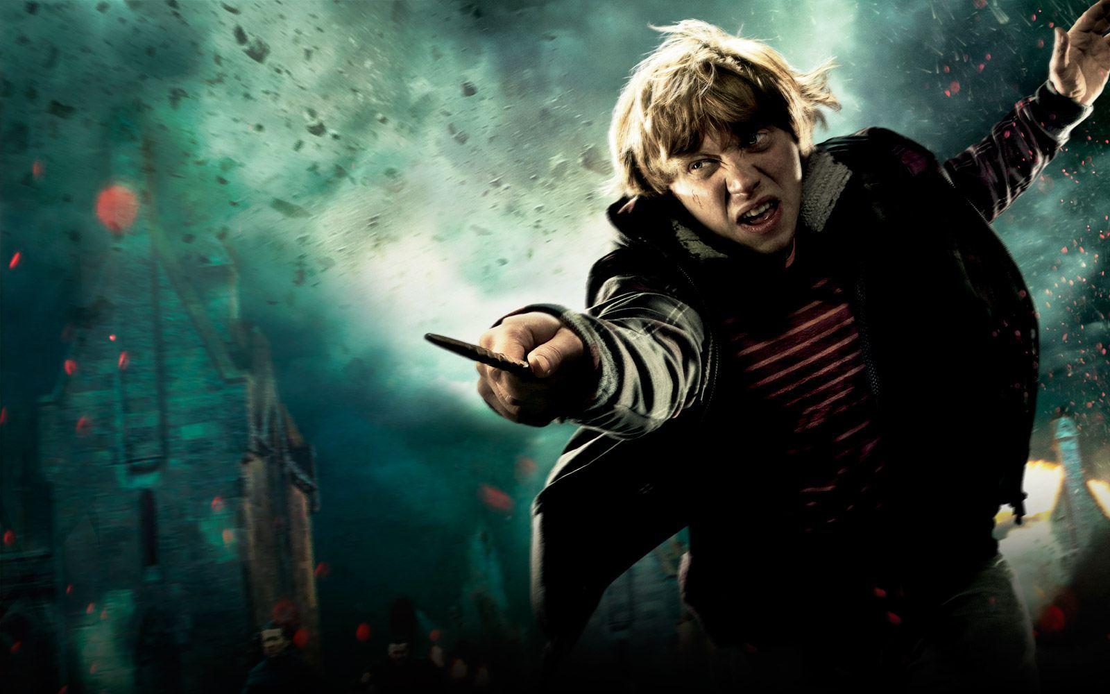промо-слайды Гарри Поттер и Дары Смерти: Часть вторая Руперт Гринт,