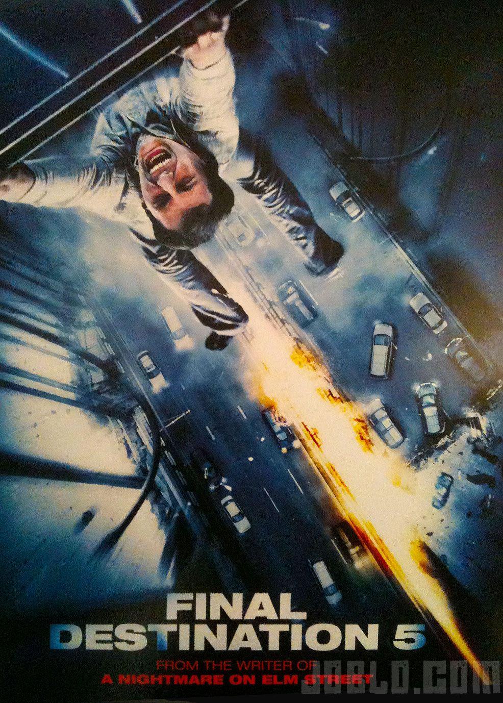 плакат фильма сейлс-арт Пункт назначения 5