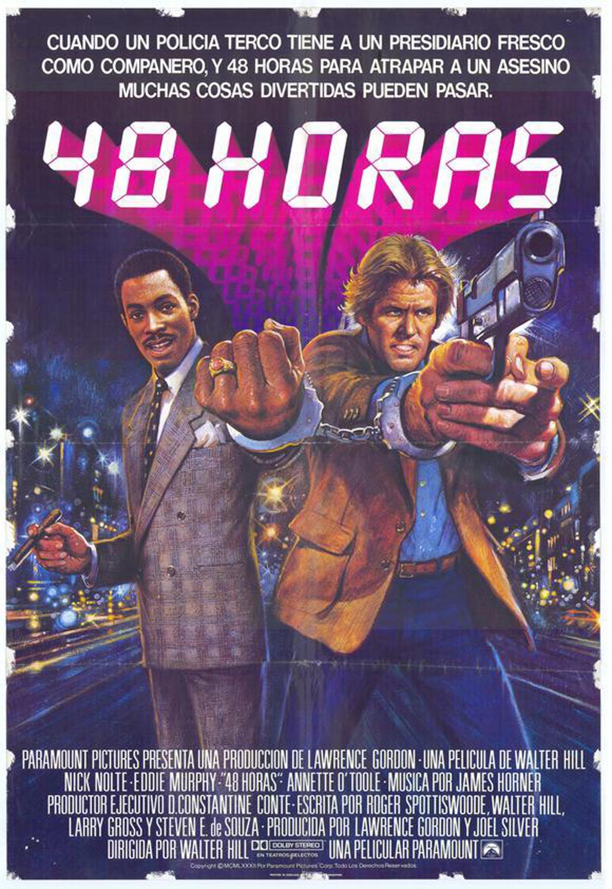 плакат фильма 48 часов