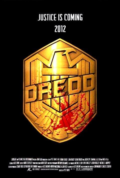 плакат фильма Судья Дредд 3D