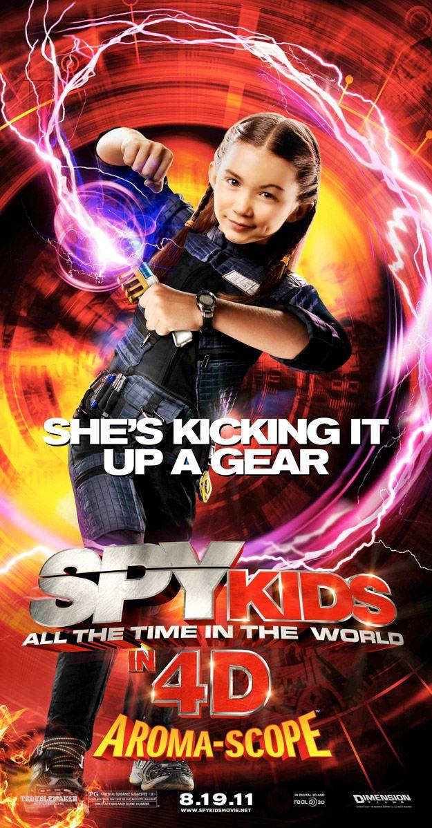 плакат фильма характер-постер баннер Дети шпионов в 4D