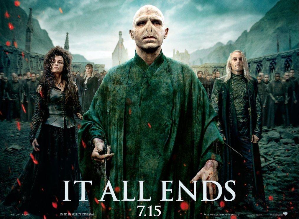 плакат фильма биллборды Гарри Поттер и Дары Смерти: Часть вторая