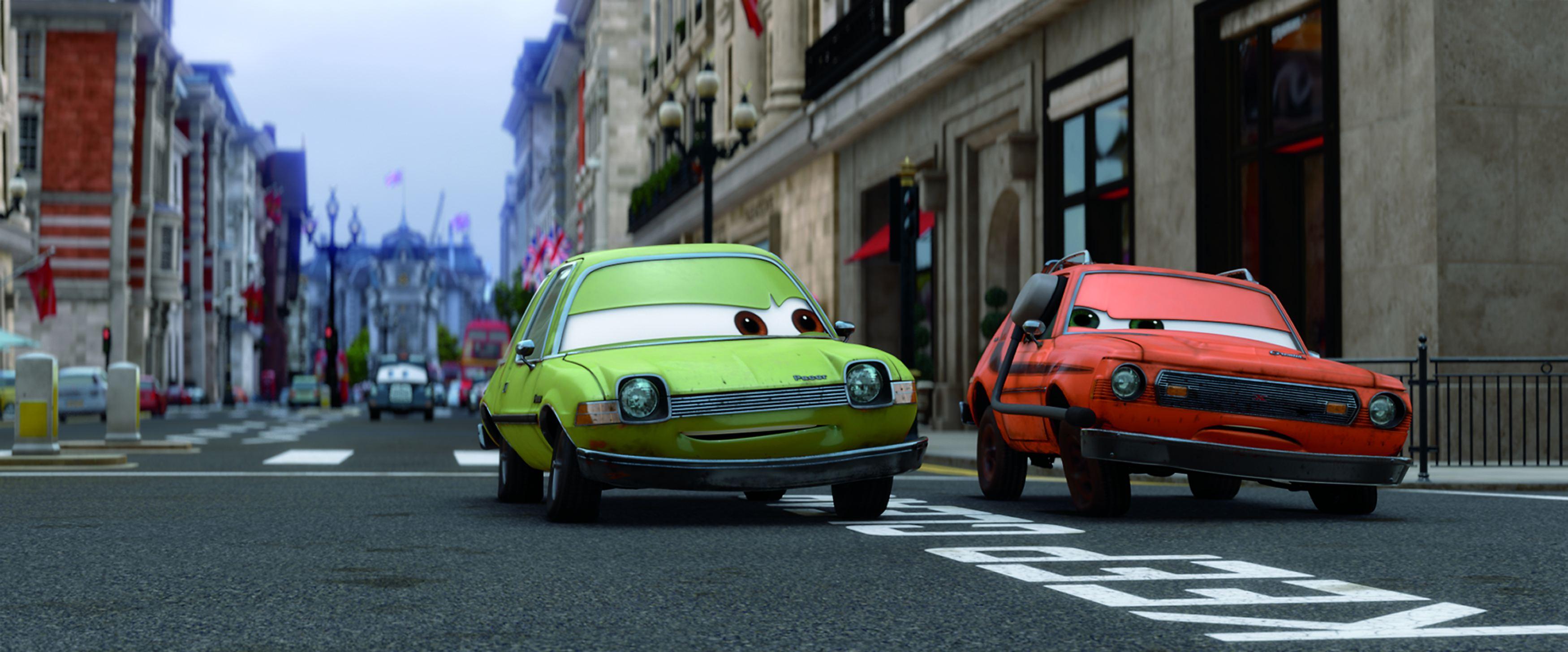кадры из фильма Тачки 2