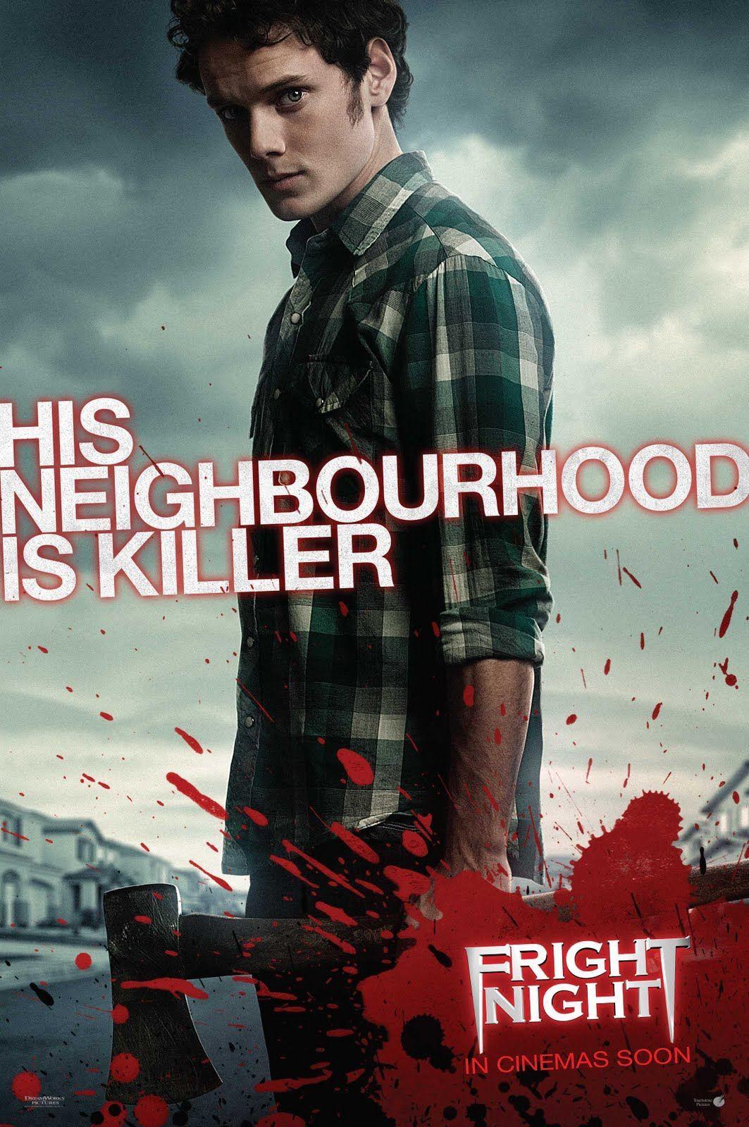 плакат фильма характер-постер Ночь страха