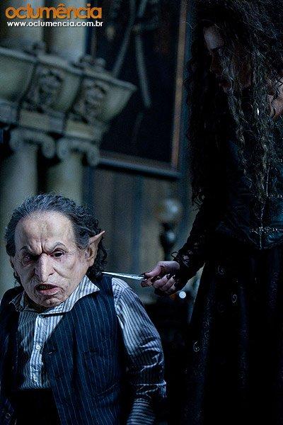 кадры из фильма Гарри Поттер и Дары Смерти: Часть первая Уорвик Дэвис, Хелена Бонэм Картер,