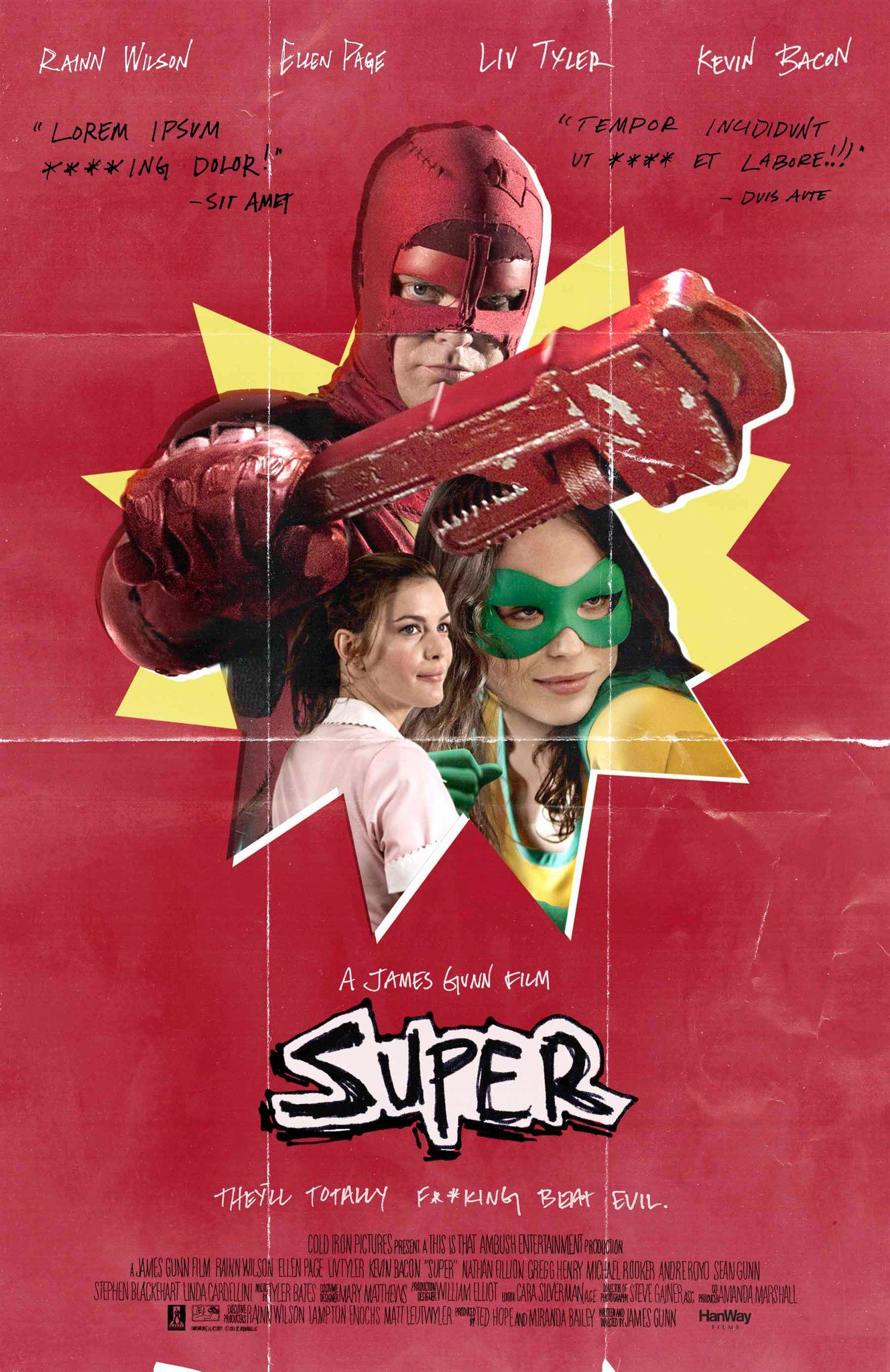 плакат фильма постер Супер