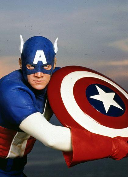 кадры из фильма Капитан Америка Мэтт Сэлинджер,