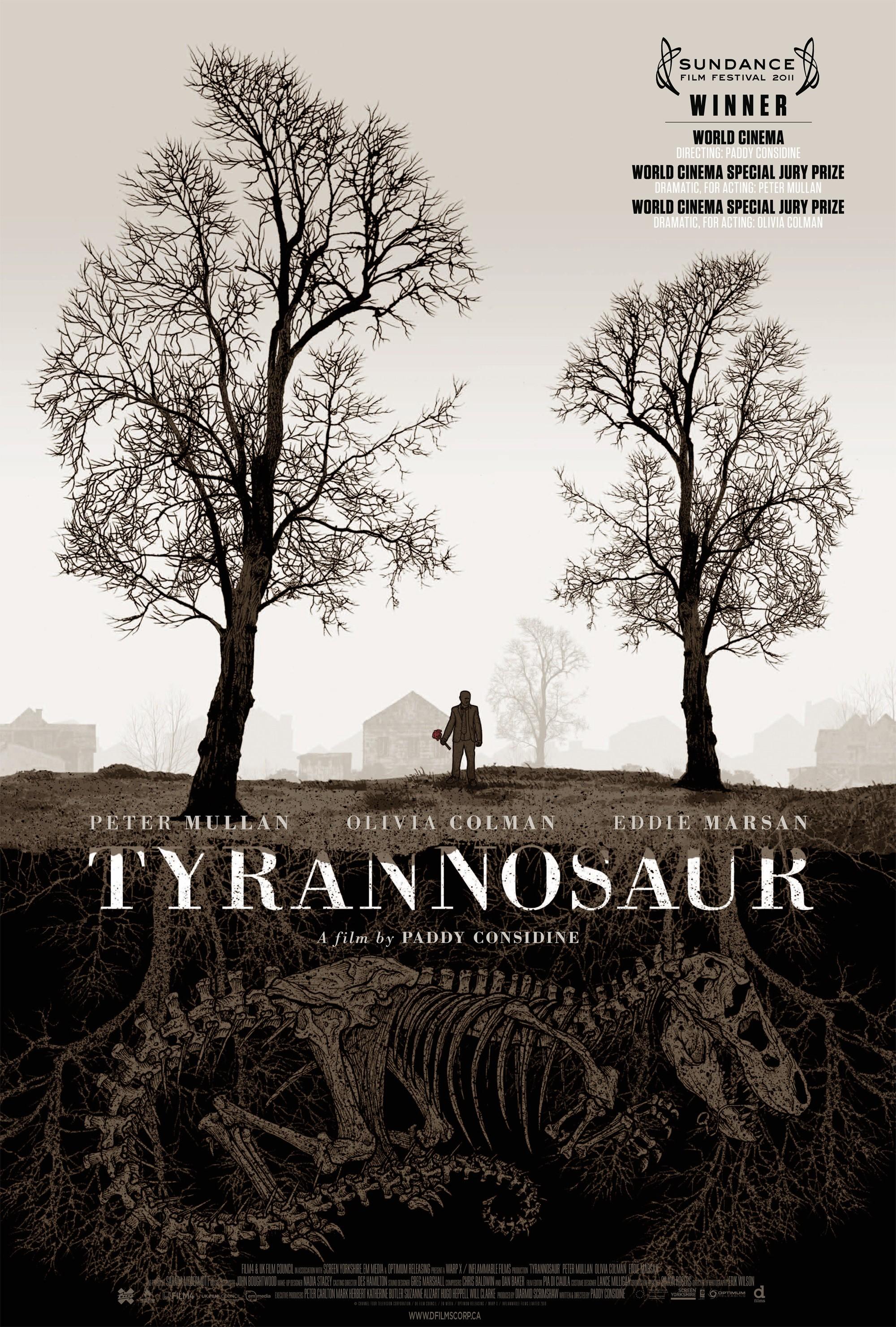 плакат фильма постер Тираннозавр