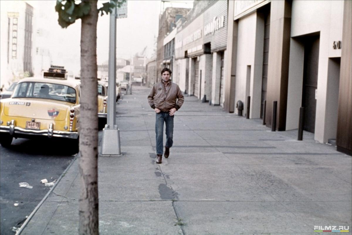 кадры из фильма Таксист Роберт Де Ниро,