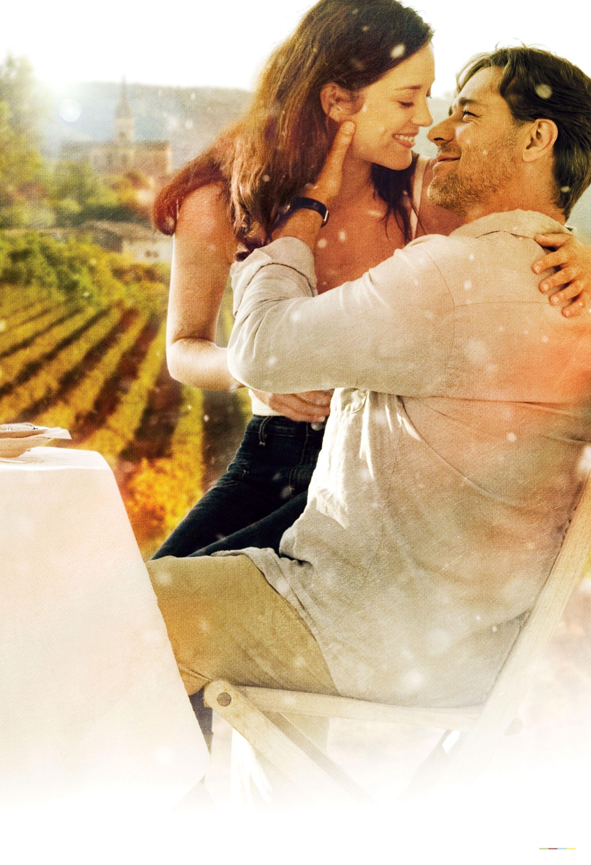 плакат фильма постер textless Хороший год