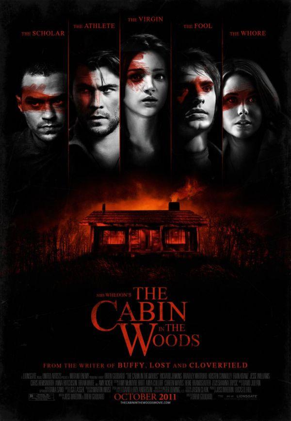 плакат фильма постер Хижина в лесу