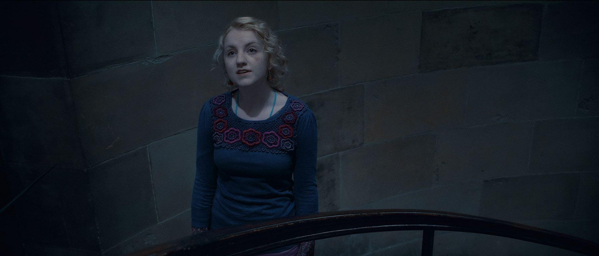 кадры из фильма Гарри Поттер и Дары Смерти: Часть вторая Эванна Линч,