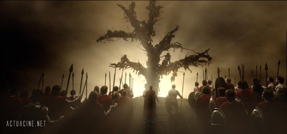 кадры из фильма 300 спартанцев