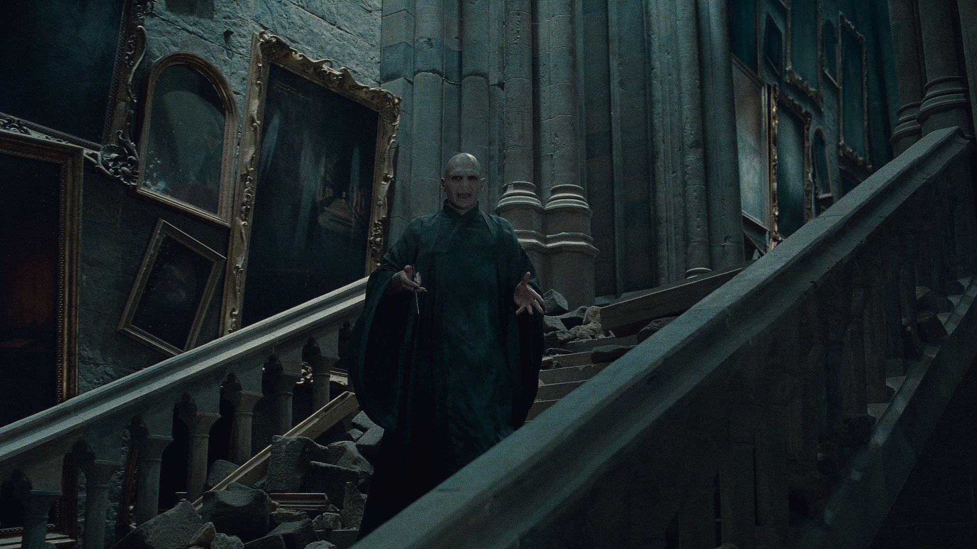 кадры из фильма Гарри Поттер и Дары Смерти: Часть вторая Рэйф Файнс,