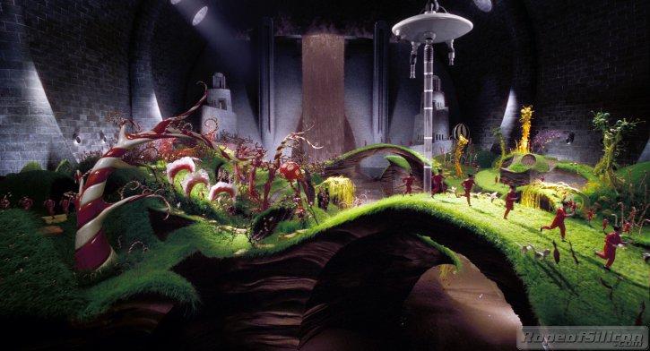 кадры из фильма Чарли и шоколадная фабрика